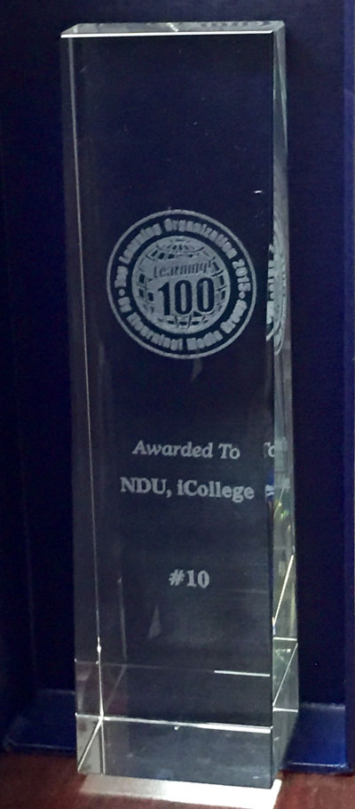 Learning! 100 Award
