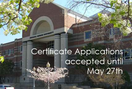 Certificate Applications accepted until May 27